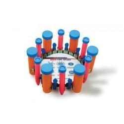 Porta tubo vertical p/ 50ml / 15ml / 1,5ml / 2.0 ml - Acessório Vortex SI-V525 - Scientific Industries