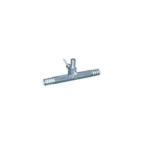 Trompa de vacuo c/ registro de aluminio