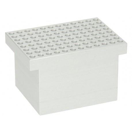 Bloco para thermobloco modelo AccuBlock 1 x 96 poços p/banho simples