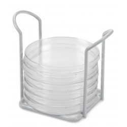 Wire Petri Dish Holder