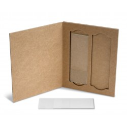 Porta Lamina 2 Laminas em papel cartão