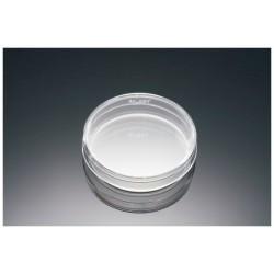 Placa de Petri - em PS Cristal- 100 x 15 mm - Bacteriológica - S/TC ( s/ tratamento p/cultura) - Embalagem c/20- Falcon