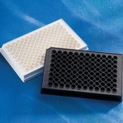 Microplaca Corning 96 poços, R, branca solida,C/TC c/tpa 100