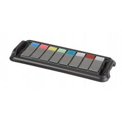 Bandeja para coloração de lâminas kit 1t+4b