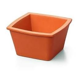 Balde de gelo Corning Mini sem tampa, quadrado 1L laranja - Corning