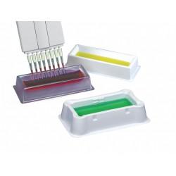 Rack Reservatório p/reagente HEA PVC clear - Embalagem c/50 pçs - Heathrow