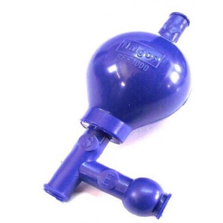Pipetador de Segurança em PVC 3 valvulas