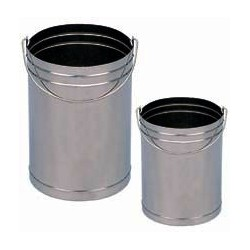 Balde de Aço Inox - 035-2 - 10L
