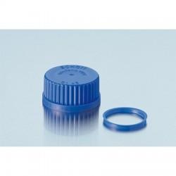Tampa de Rosca em PP Azul Schott GL45