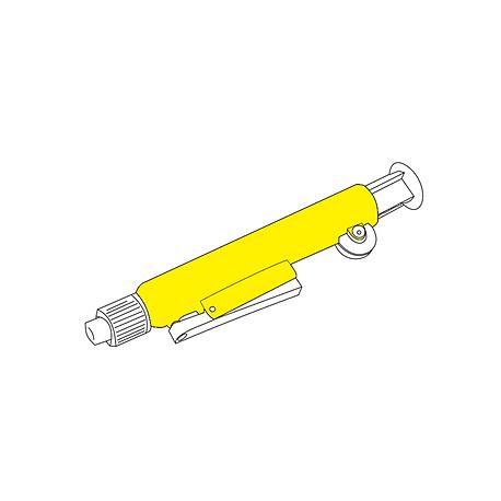 Pipetador Pipump Amarelo 0,2ml
