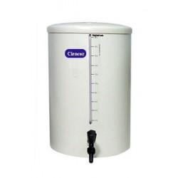 Barrilete em PVC 100 litros 45x71cm