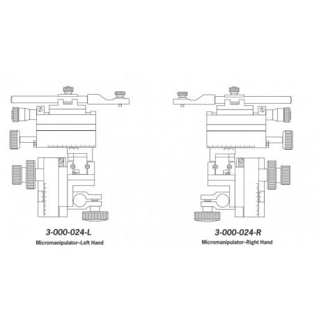 Micromanipulador Nanojet (destro)
