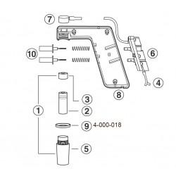 Anel de fixação cone Pipet-Aid não portátil - Drummond - Embalagem c/ 01 pç