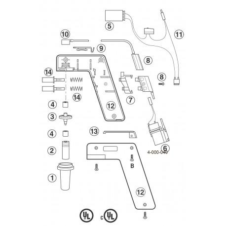 Motor para Pipet-Aid portatil Drummond