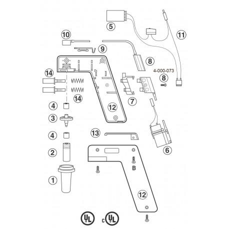 Vavula completa para Pipet-Aid modelo XP Drummond