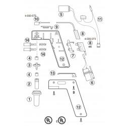Conector para Pipet-Aid modelo XP - Drummond