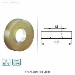 Septo de Silicone c/Furo GL 25 Shott