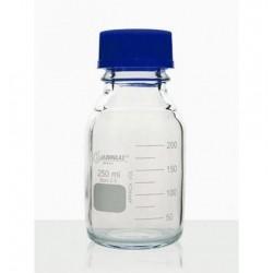 Frasco reagente graduado disp. anti-gota 250ml