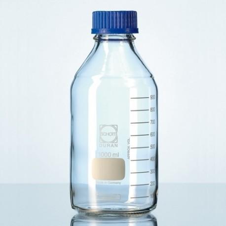 Frasco reagente graduado disp. anti-gota 150ml