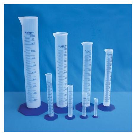 Proveta em polipropileno 25ml subd. 0,5ml