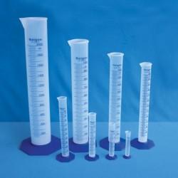 Proveta em polipropileno 50ml subd.1ml
