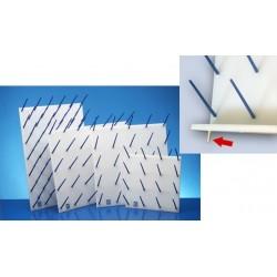 Suporte escorredor p/secagem de vidraria 35 pcs
