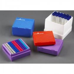 Rack em Polipropileno-  corrugado-  81 posições- 1.5/2.0 ml -  Lilás -  unidade - Heathrow