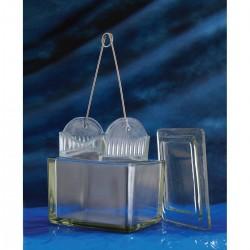 Cuba de Vidro Completa 108 x 90 x 70mm