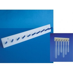 Suporte em PP para escovas e espátulas - Embalagem c/01 pç