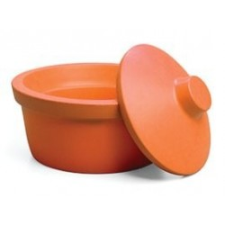 Recipiente redondo para gelo 2.5L laranja - Corning
