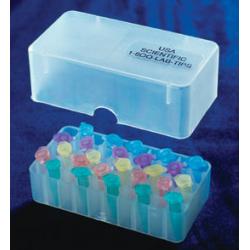 Rack em PP- 50 posições p/tubos de 0,5ml - Embalagem c/01 pç - natural- Ciencor