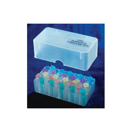 Rack em PP- 50 posições p/tubos de 0,5ml - Embalagem c/01 pç - natural