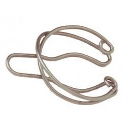 Presilha de aço inox - para acoplar juntas cônicas 24/40-Ciencor