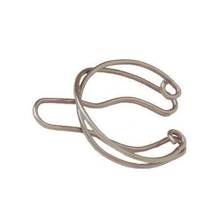 Presilha de aço inox, para acoplar juntas cônicas
