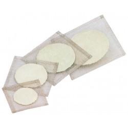 Tela de arame galv. c/ disco refratário 16 x 16 cm- Ciencor