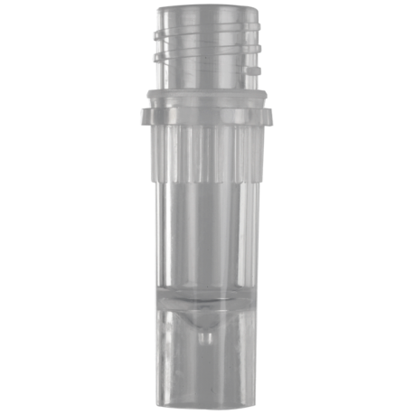 Microtubo com rosca Axygen 1,5ml c/base s/tampa pt/500