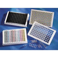 Microplaca Corning 96 poços, R, EIA, em tiras s/tpa cx100