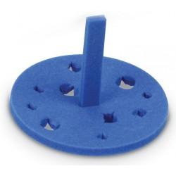 Rack p/banho maria, em espuma especial p/ microtubos PT/5