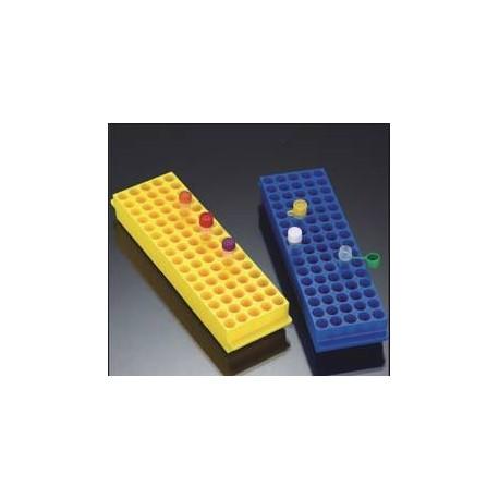Rack em PP 80 posiçoes 1.5-2.0ml coloridos