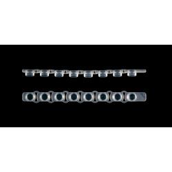 Tampa em Tira SSI p/ PCR 0,2ml Reta pt/125tiras