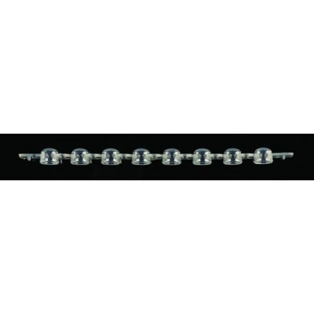 Tampa em Tira SSI p/ PCR 0,2ml Domed pt/125 tiras