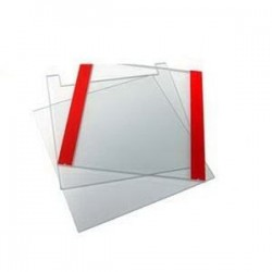 Placa de vidro entalhada p/ sistema de eletroforese Enduro Page E2110-NG-2