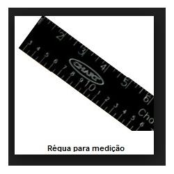 Régua p/medição de N2 - 50cm