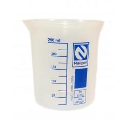 Becker em polipropileno 250ml subd. 25/25ml- Nalgon