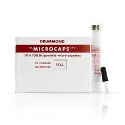 Microcaps 1-000-0500 - 50ul - Drummond