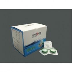 Filtros para seringa membrana em PES - estéril - porosidade 0,22um - dâm 30/33 mm - Microlab