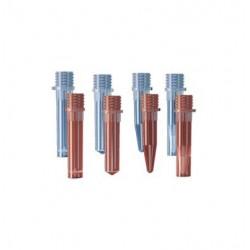 Microtubo com rosca Axygen 1,5ml s/tampa PT/500